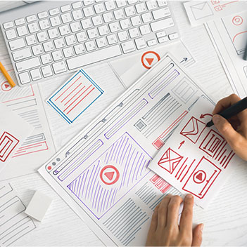 Website development image